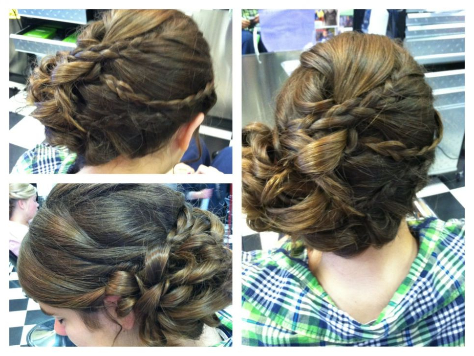 Hairstyles : Homecoming Hairstyles Superb Bridesmaid Hair Updo Long With Long Hairstyles At Home (View 12 of 25)