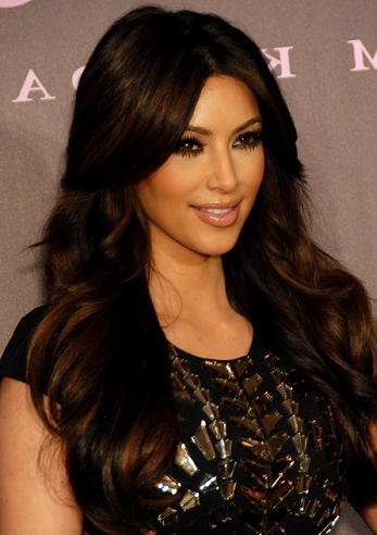 Hairstyles: Kim Kardashian – Long Layered Hairstyle With Long Layered Hairstyles Kim Kardashian (View 2 of 25)