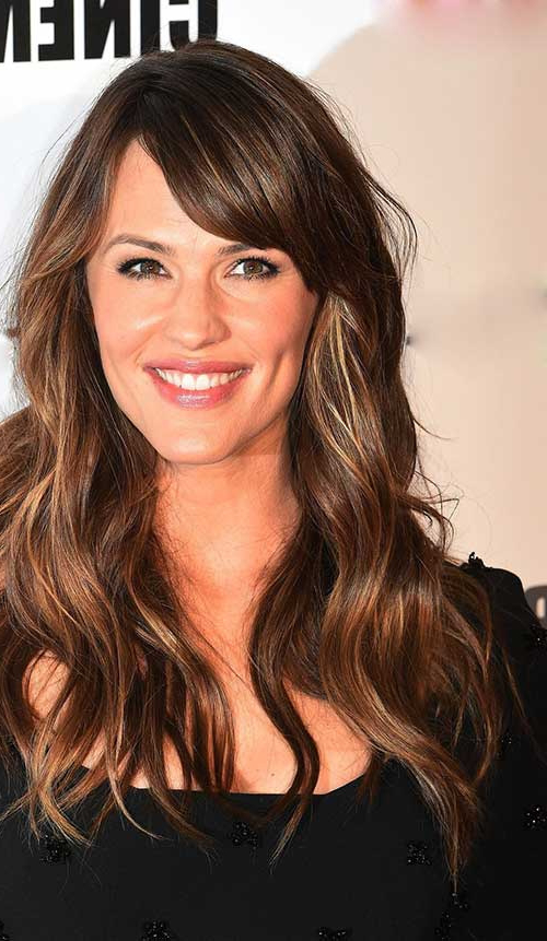 Hairstyles : Long Haircuts With Bangs Super Inspiration 35 Long With Best Long Hairstyles With Bangs (View 21 of 25)
