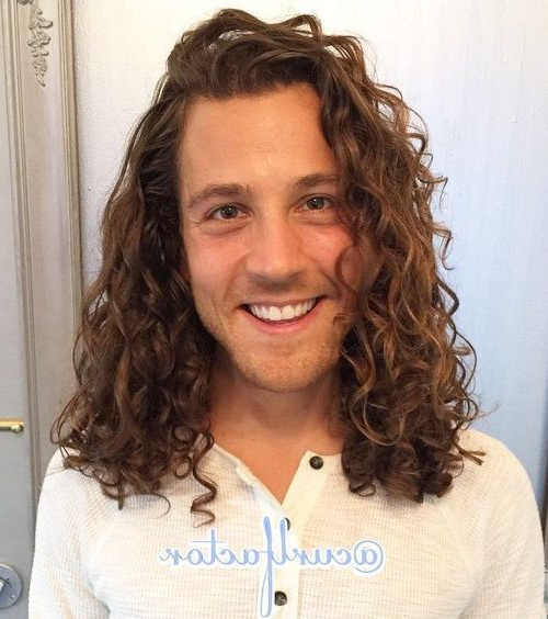 Hairstyles : Male Long Curly Hair 22 Best 45 Best Curly Hairstyles In Men Long Curly Hairstyles (View 21 of 25)