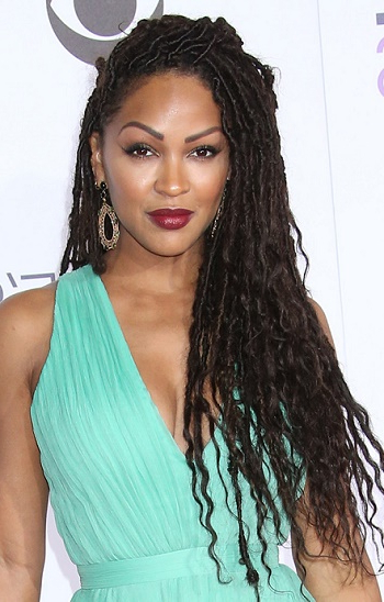 Hairstyles: Meagan Good – Long Braided Hairstyle With Meagan Good Long Hairstyles (View 5 of 25)
