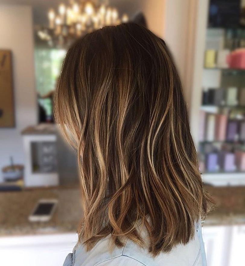 Hairstyles : Medium Long Length Haircuts For Thick Hair Spectacular Pertaining To Medium Long Haircuts For Thick Hair (View 2 of 25)
