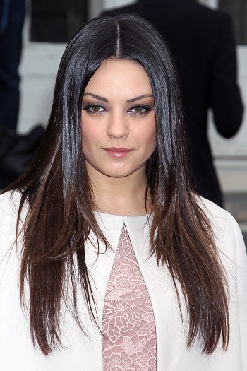Hairstyles: Mila Kunis – Long Straight Hairstyle With Regard To Mila Kunis Long Hairstyles (View 6 of 25)