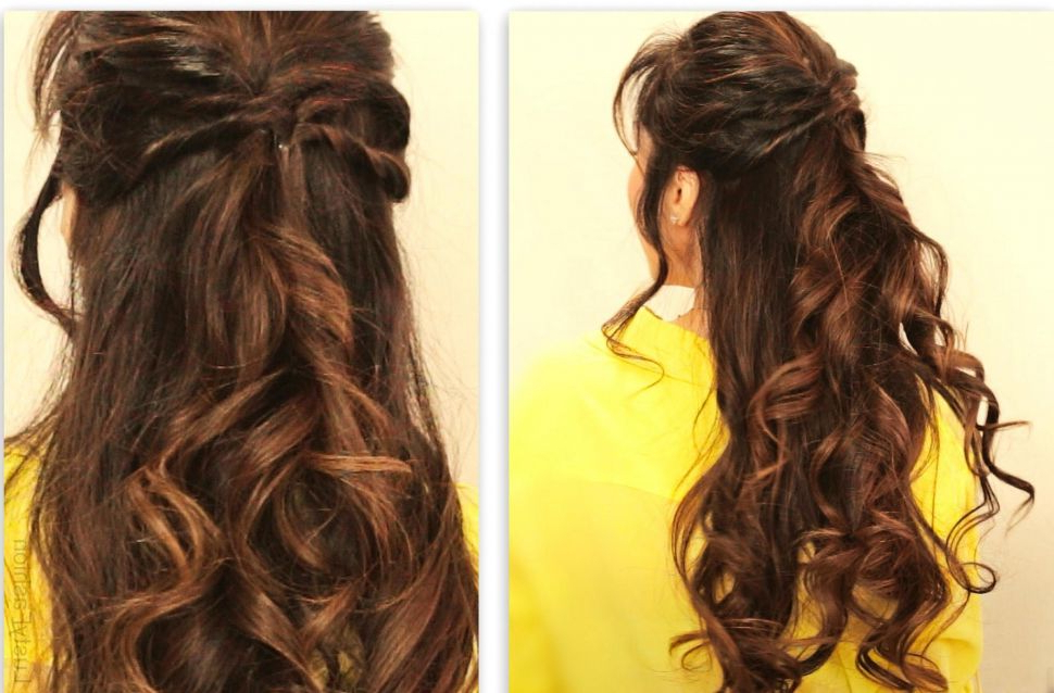Hairstyles : Prom Hairstyles For Long Hair Half Up Down Straight With Regard To Half Up Hairstyles For Long Straight Hair (View 15 of 25)