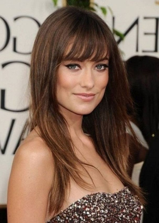 Hairstyles With Bangs – Hairstyles & Haircuts Within Long Hairstyles For Fine Hair With Bangs (View 24 of 25)