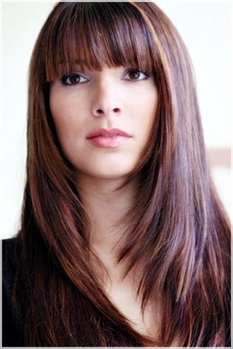 Hairstyles With Bangs – Look Different And Stylish – Hairstyles With With Long Hairstyles With Bangs (View 18 of 25)