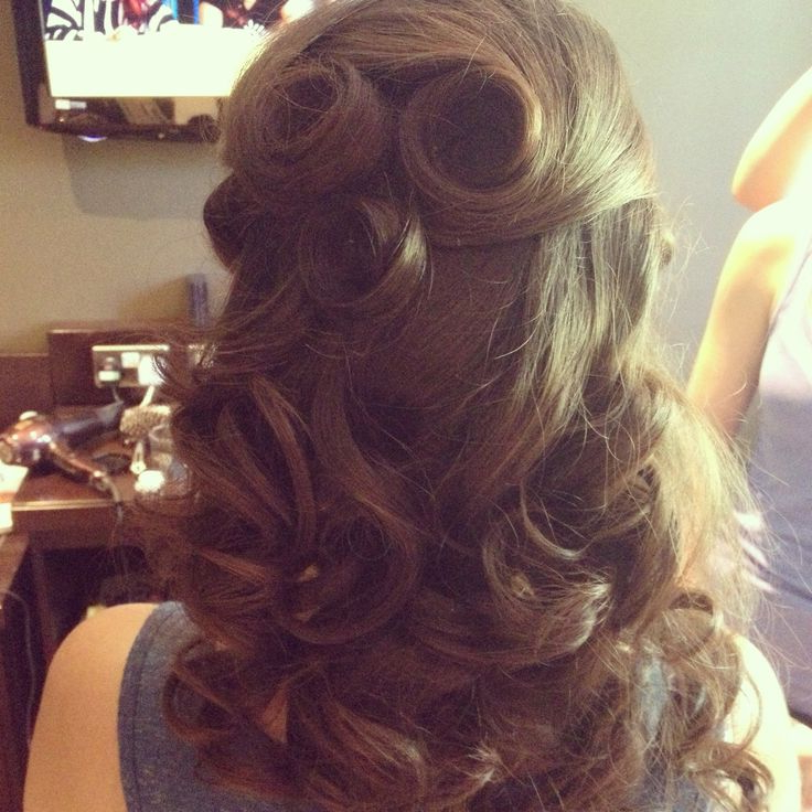 Half Updo Hairstyles – Glam Radar With Regard To Rosette Curls Prom Hairstyles (View 10 of 25)