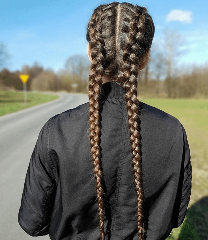 Hassle Free Hairstyles For Long Thick Hair You'll Love Regarding Braids Hairstyles For Long Thick Hair (View 17 of 25)