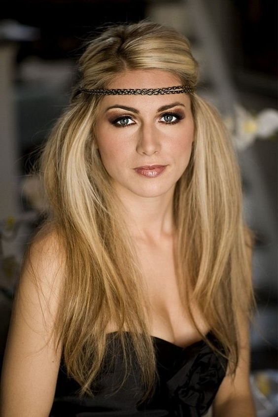 Headband Hairstyles For Long Hair – Elle Hairstyles Pertaining To Long Hairstyles With Headbands (View 19 of 25)