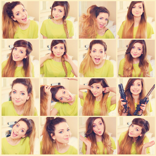 Hello There! | Via Tumblr On We Heart It With Regard To Zoella Long Hairstyles (View 18 of 25)