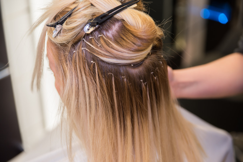 Here's Why You Should Consider Wedding Hair Extensions – Weddingwire Throughout Long Hairstyles Extensions (View 10 of 25)