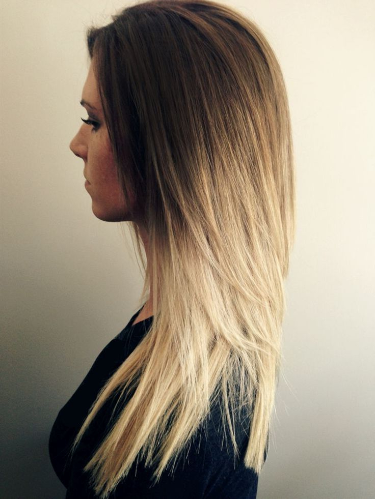 Honey Golden Brown To Blonde Ombre Melt | H A I R I N S P O Intended For Volume Adding Layers For Straight Long Hairstyles (View 21 of 25)