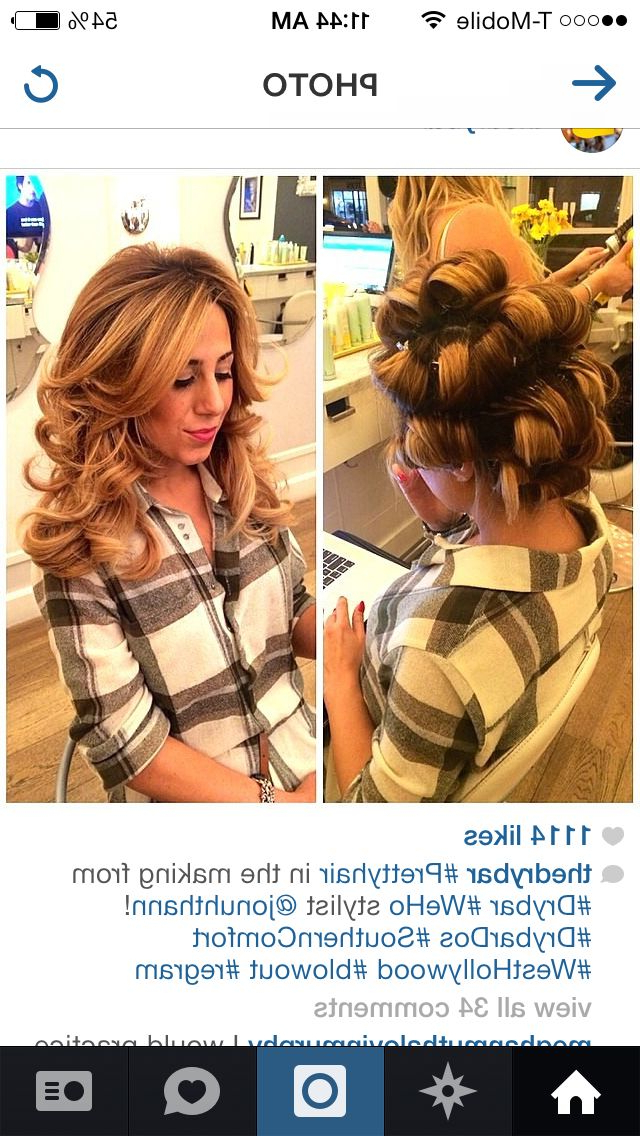 Hot Rollers Before And After | Hair (View 13 of 25)