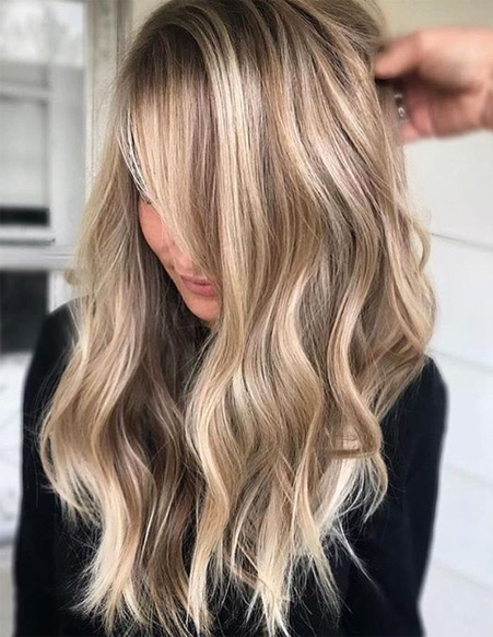 Hottest Hair Color Trends For Long Hairstyles 2018 Ideas | Intended For Long Hairstyles And Colours (View 20 of 25)