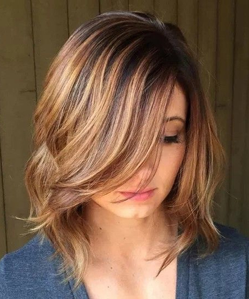 Hottest Mid Length Layered Bob Hairstyles 2018 For Women | Styles Beat With Regard To Medium Long Layered Bob Hairstyles (View 14 of 25)