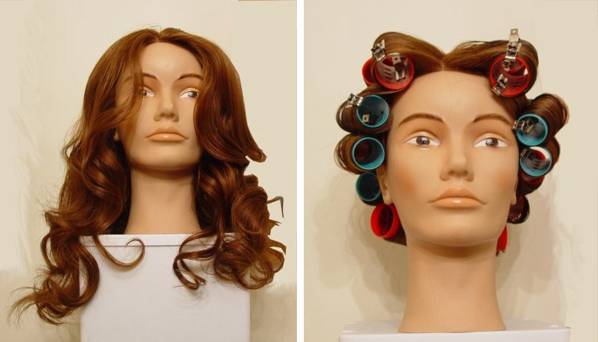 How To Achieve A Soft Curled Hair Style Using Rollers And Roller Set Inside Long Hairstyles Using Rollers (View 5 of 25)