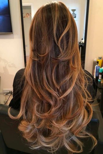 How To Choose The Right Layered Haircuts | Lovehairstyles Inside Balayage Hairstyles For Long Layers (View 21 of 25)