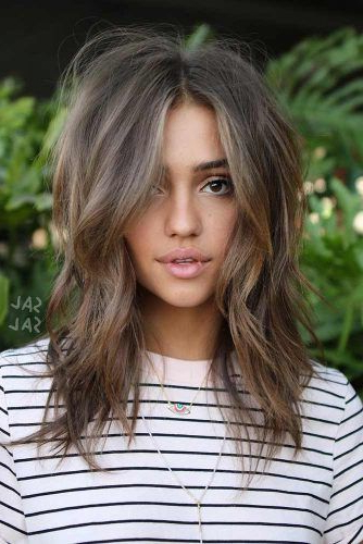 How To Choose The Right Layered Haircuts | Lovehairstyles Inside Volume Long Hairstyles (View 10 of 25)