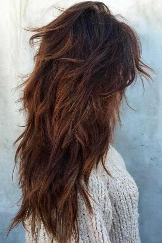 How To Choose The Right Layered Haircuts | Lovehairstyles Throughout Textured Long Haircuts (View 8 of 25)