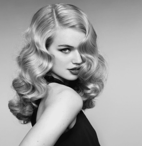 How To Create A Classic Hollywood Waves Hair Style Within Old Hollywood Long Hairstyles (View 12 of 25)