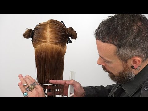 How To Cut Hair Straight | Creating A Precision Bottom Edge – Youtube Throughout One Length Long Haircuts (View 25 of 25)
