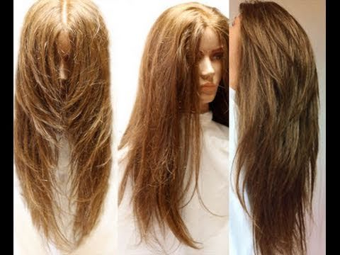 How To Cut Your Own Hair In Long Layers ~ Easy Hair Cut Tutorial Pertaining To Long Hairstyles At Home (View 10 of 25)