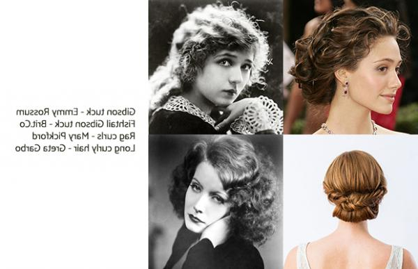 How To Do 1920S Hairstyles – Easy Tutorials For Short And Long Hair Within 20S Long Hairstyles (View 17 of 25)
