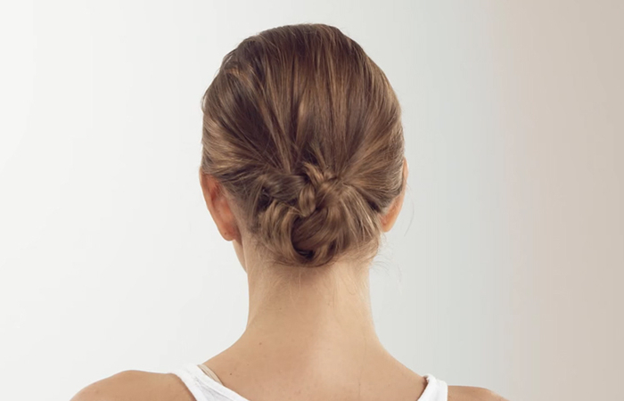 How To Do The Perfect Low Bun – A Step By Step Tutorial Regarding Low Pearled Prom Updos (View 13 of 25)