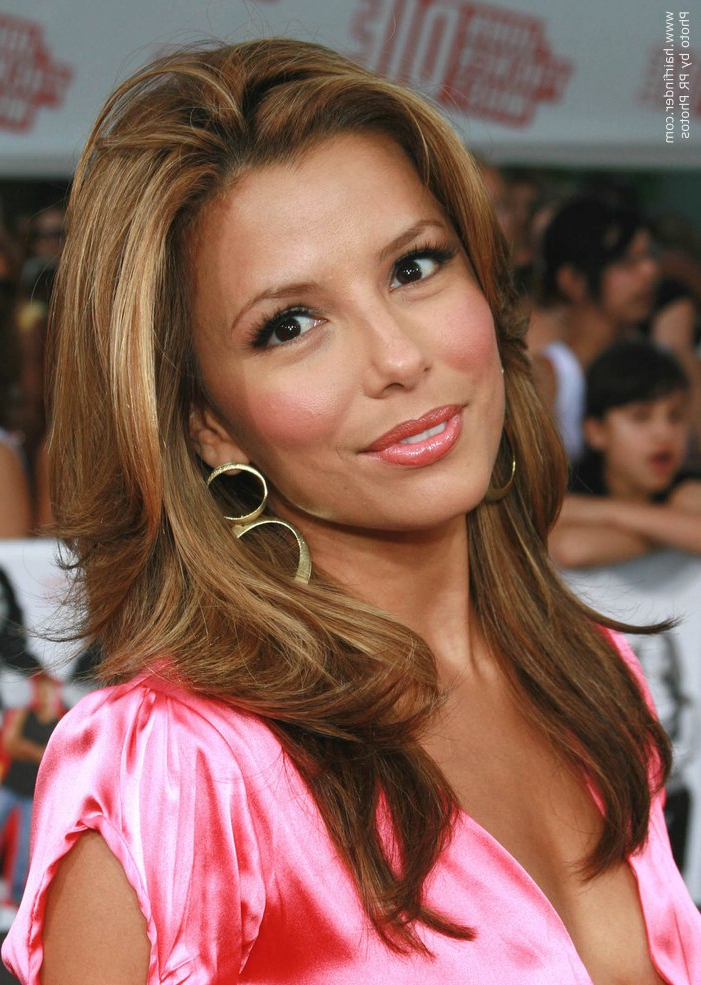 How To Get Eva Longoria's Long Layered Look For Your Hair Inside Long Hairstyles Eva Longoria (View 22 of 25)