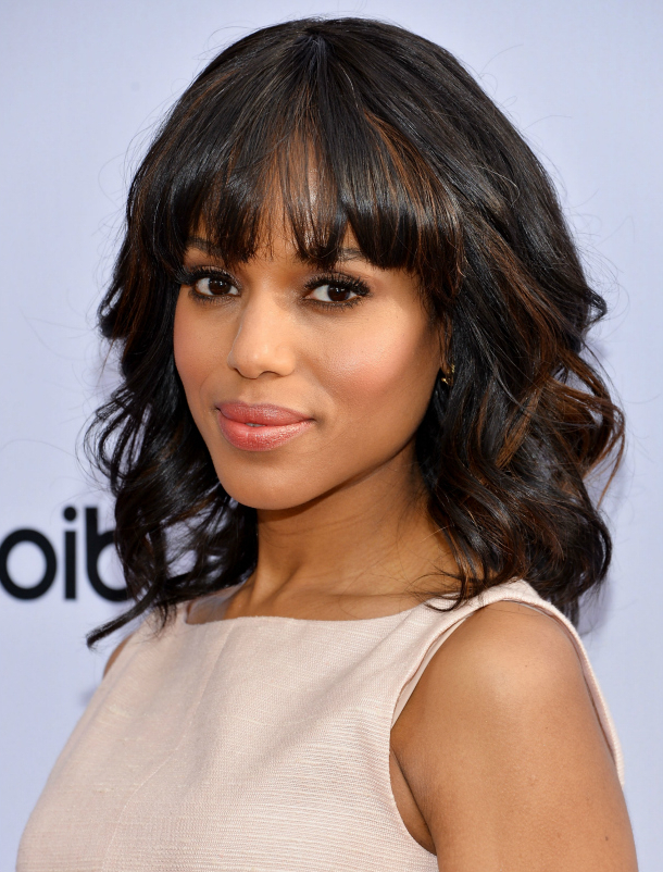 How To Grow Out Your Bangs Quickly, Easily And Gracefully | Stylecaster Intended For Long Hairstyles Growing Out Bangs (View 13 of 25)
