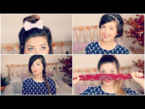 How To: Quick & Easy Hair Styles | Zoella – Youtube With Regard To Zoella Long Hairstyles (View 16 of 25)