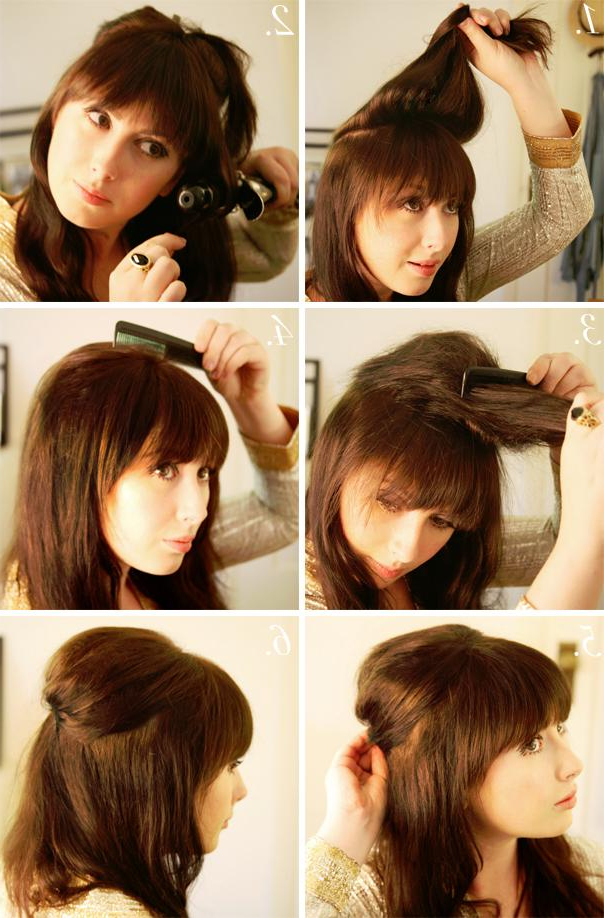 How To Style 1960S Hairdos – Long Hairstyles How To Intended For 1960S Long Hairstyles (View 14 of 25)