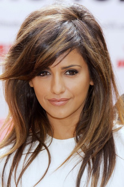 How To Style Side Swept Bangs – Hair World Magazine For Long Hair With Layers And Side Swept Bangs (View 6 of 25)