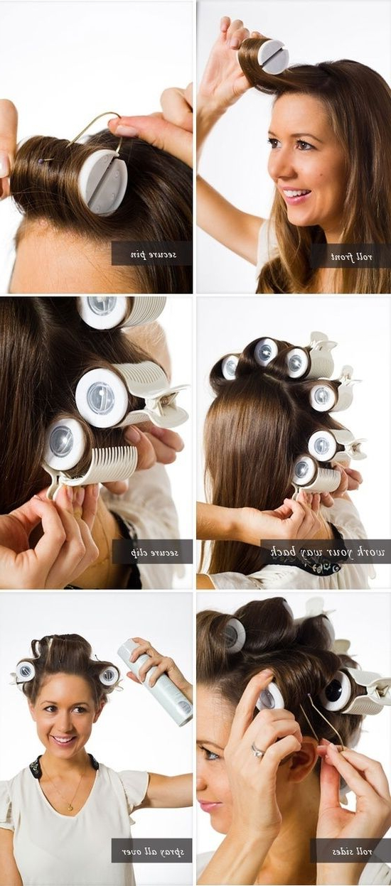 How To Use Hot Rollers The Right Way – Renewed Style | Hair | Hair For Long Hairstyles Using Hot Rollers (View 11 of 25)