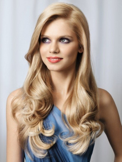 Ibeaddicted: Glamour Long Hairstyles Ideas For Women Regarding Long Hairstyles Glamour (View 8 of 25)