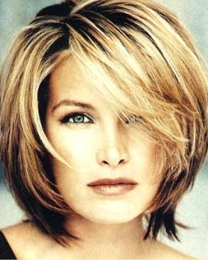 Image Result For Going From Long To Short At 60 And Hiding A Double For Long Hairstyles To Hide Double Chin (View 23 of 25)
