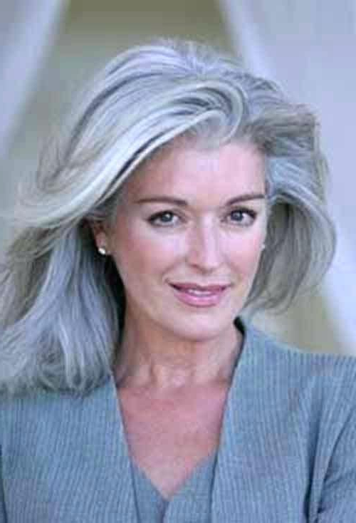 Image Result For Long Gray Hair On Over 60 | Hair In 2019 | Grey With Regard To Long Hairstyles Over (View 14 of 25)