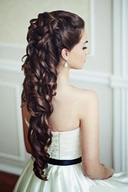 Image Result For Quinceanera Hairstyles Long Hair | Pageant Hair With Regard To Long Quinceanera Hairstyles (View 17 of 25)