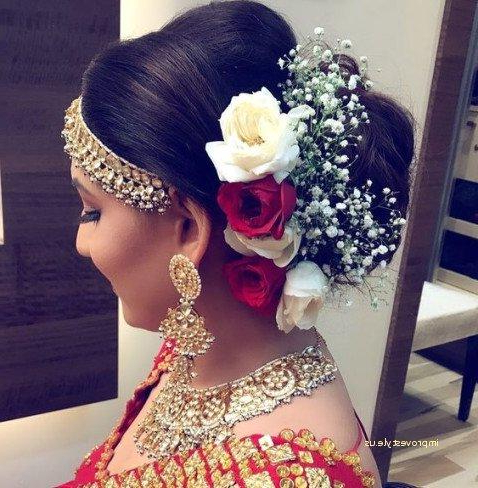 Indian Bridal Hairstyles Beautiful Kerala Hairstyle 0D Concept Of With Long Hairstyles In Kerala (View 24 of 25)