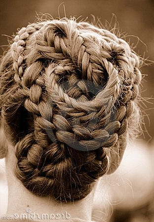 Intricate Braided Hairanthonyata, Via Dreamstime   Hair Stylings Throughout Jewelled Basket Weave Prom Updos (View 4 of 25)