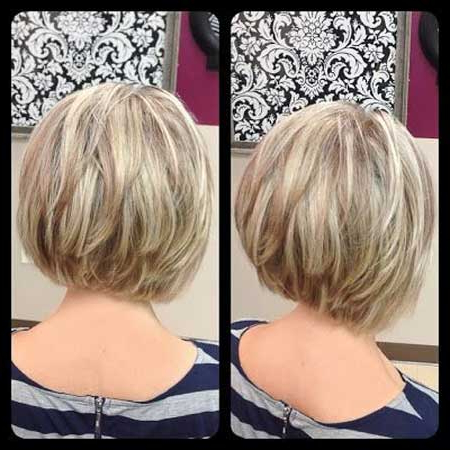 Inverted Bob Haircuts 2013 2014 For Long Inverted Bob Back View Hairstyles (View 11 of 25)