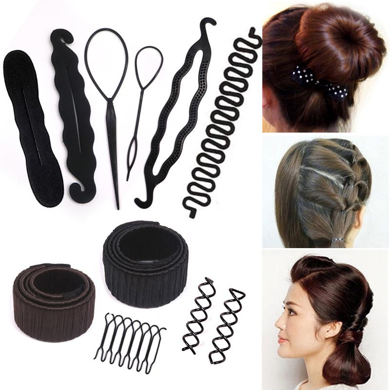 Invisible Hair Clips For Women Hair Accessories Hairpins Black For Side Bun Prom Hairstyles With Jewelled Barrettes (View 18 of 25)