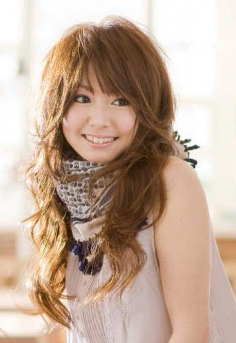 Japanese Long Haircut | Japanese Long Hairstyle | Hairstyles Weekly Within Japanese Long Haircuts (View 3 of 25)
