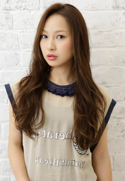 Japanese Long Hairstyles 2013 Picture intended for Japanese Long Hairstyles
