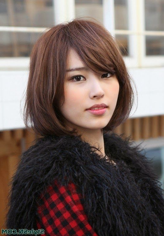 Japanese Straight Bob Cut Hair Style -Stylesn-Pin Itcarden inside Long Straight Japanese Hairstyles