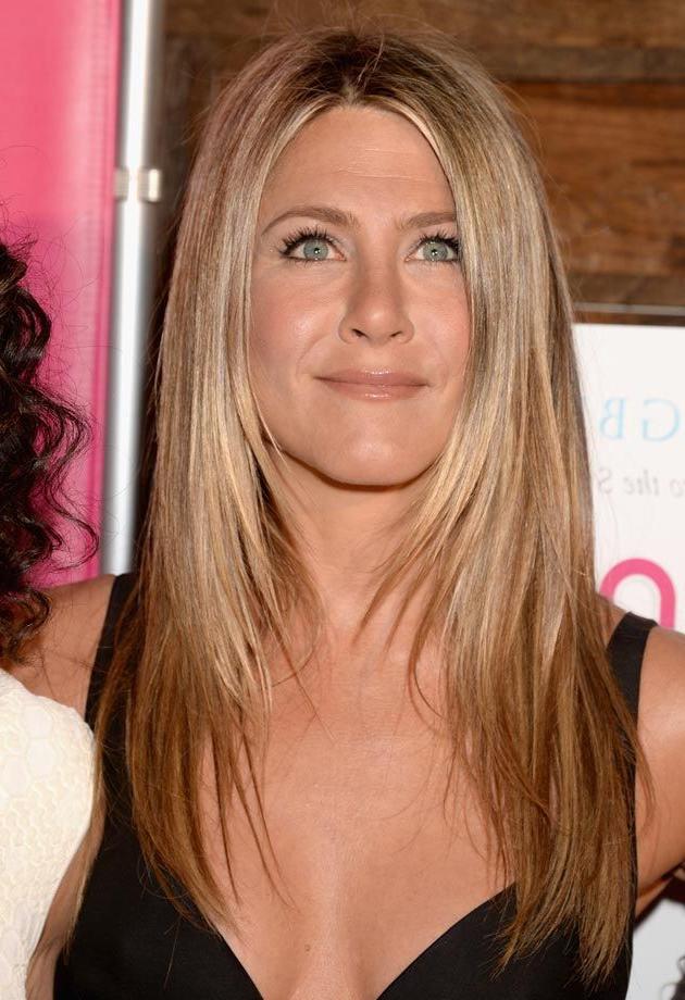 Jennifer Aniston Hair Jason Merritt, Getty Images | Hair And Nails throughout Long Layered Hairstyles Jennifer Aniston