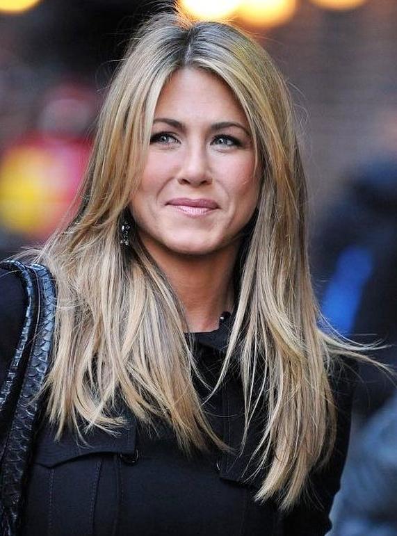Jennifer Aniston Hairstyles Through The Years intended for Long Layered Hairstyles Jennifer Aniston