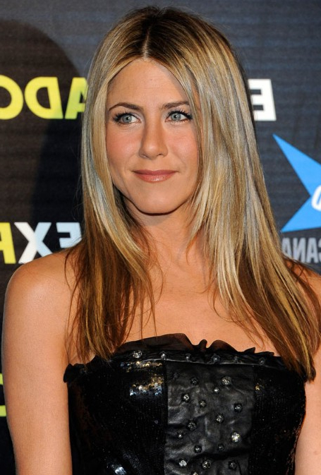 Jennifer Aniston - Hairstyles Weekly intended for Jennifer Aniston Long Haircuts