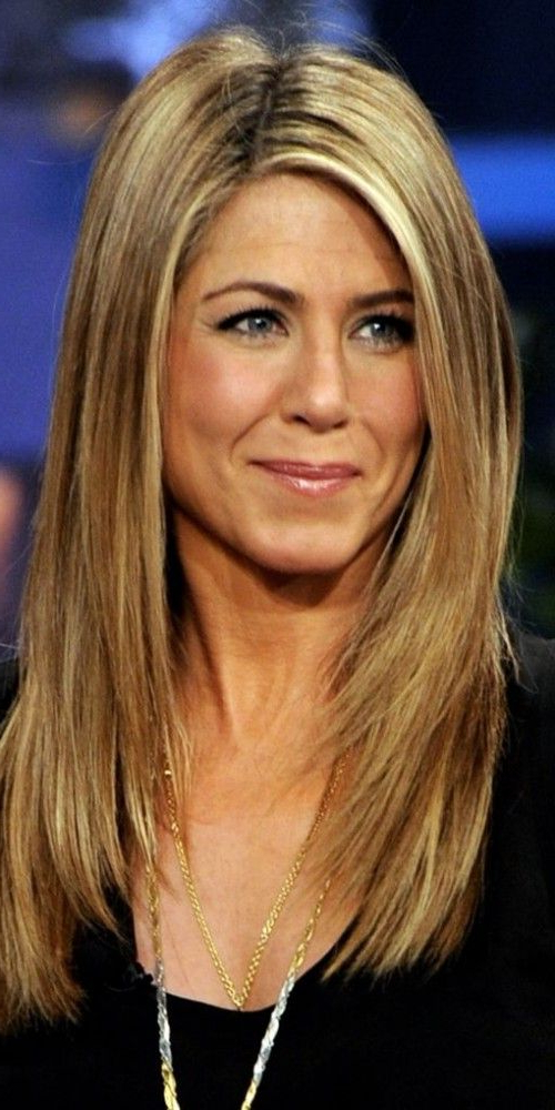 Jennifer Aniston Ling Layered Hairstyle | Hair In 2019 | Jennifer Within Long Layered Hairstyles Jennifer Aniston (View 3 of 25)