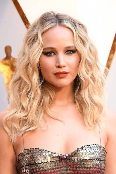 Jennifer Lawrence: Hair & Hairstyles Photos | British Vogue with regard to Jennifer Lawrence Long Hairstyles